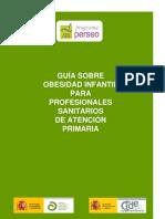 Guia Obesidad Infantil Profesionales Sanitarios