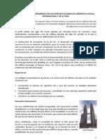 Desarrollo de Los Edificios de Concreto a Escala en El Peru