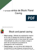 13-Principios de Block Caving
