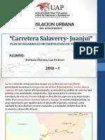 Carretera Salaverry Juanjui