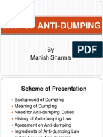 Law of Anti-dumping