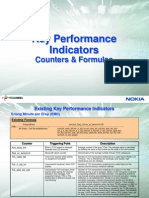KPI Counters Cause Description