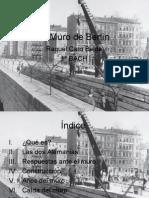 Raquel Caro Belda -Trabajo muro de Berlín 2