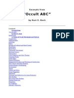Occult ABC Koch