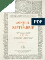 (Mineiul) (09) Luna Septembrie (1986)