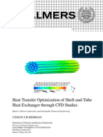 Heat Exchanger Optimization CFD