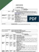 Model Raport Semestrial consilier scolar