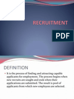 RECRUITMENT -.ppt