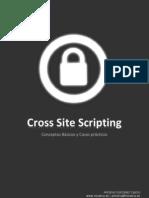 Cross Site Scripting-Antonio Gonzalez Castro-Parte I