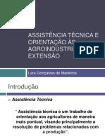 Assistência técnica e orientação às agroindústrias.pptx