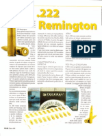 222 Remington - Cartuccia