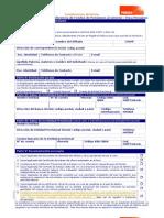 Solicitud de Transferencia de Fondos Para Peruanos
