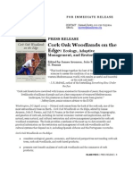Corkoak Press Release