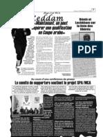 Bénié et Lachkham sur la liste des libérés