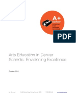 Arts Education in Denver Schools