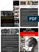 LTTE & it's activities - Leaflet - 1