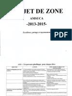 Projet de Zone - AMSUCA (2013-2015)