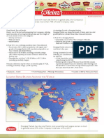 FY12 Heinz Corporate Fact Sheet