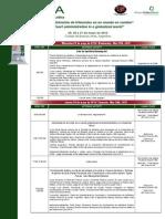 Programa Conferencia IACA - inglés y español - Mayo 2013