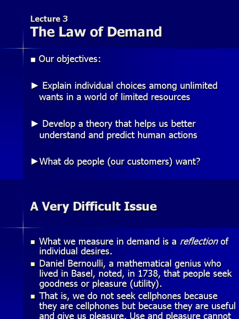 explain demand and law of demand Mba study material - managerial economics- demand analysis by: ramu magham at: 05:51 in: education, study material 2 comments demand analysis introduction the law of demand states: when the price of a product will increase.