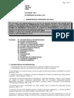 Apostila CFO Administração Financeira Aplicada