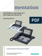 User Manual OpenStage 40 SIP