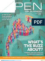 Open For Business Magazine - June/July 13