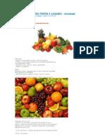 Projeto Alimentos Frutas e Legumes