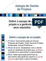 08 - Escopo e Requisitos Do Projeto