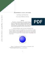 Pitman-Archimedes, Gauss, And Stein