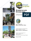 Streetscape Design Guidelines