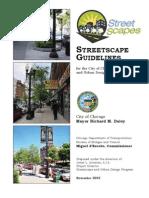 Streetscape Design Guidelines