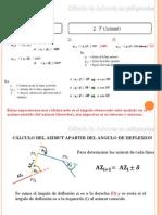 Calculo de Azimuts en Poligonales
