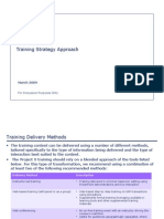 03 Training Strategy Approach