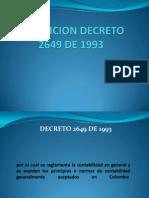 Exposicion Decreto 2649 de 1993