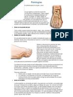 Patologías del pies arreglado