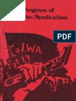 Program of Anarcho-Syndicalism