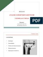 Dimensionamento de Consolas Curtas