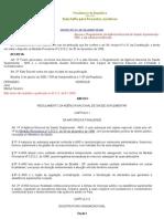 DECRETO N°3.327, DE 5 DE JANEIRO DE 2000