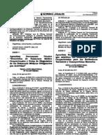 Documento Ténico, Protocolo de Exámenes Médico Ocupacionales y Guías de Diagnóstico de los Exámenes Médicos Obligatorios por Actividad, RM312-2011-MINSA_A