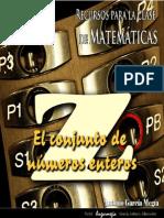 El conjunto Z de numeros enteros