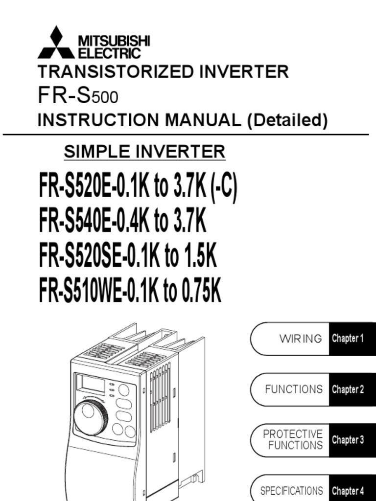 Mitsubishi s500 series vfd instruction manual power inverter mitsubishi s500 series vfd instruction manual power inverter capacitor asfbconference2016 Choice Image