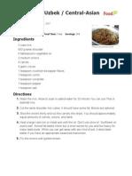 Plov Recipe Www.food.Com -