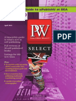 PW Select April 2013, Official Guide to UPublishU at BEA!