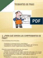 Cuestionario Comprobantes de Pago.
