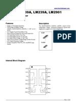 LM339 LM239 LM2901 Datasheet