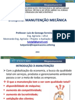 248104-Disciplina_MANUTENÇÃO_MECÂNICA_Prof_Luiz_de_Gonzaga_Ferreira_Júnior