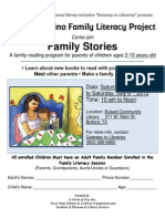 2013 Bullard Community Library Latino Family lIteracy Session English Vers