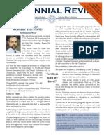 Centennial Review June 2013