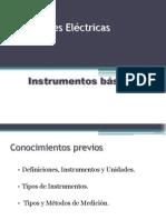 Instrumentos básicos de Medicion